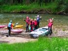 Školní vodácký výlet do Jizerských hor