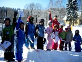 Víkendová lyžařská školička